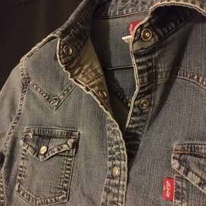 Levi's Denim Button-down Shirt